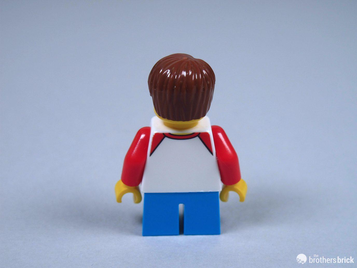 Duplica-Lego Mini Figura-LOM008-Centauri-Life on Mars-in buonissima condizione.