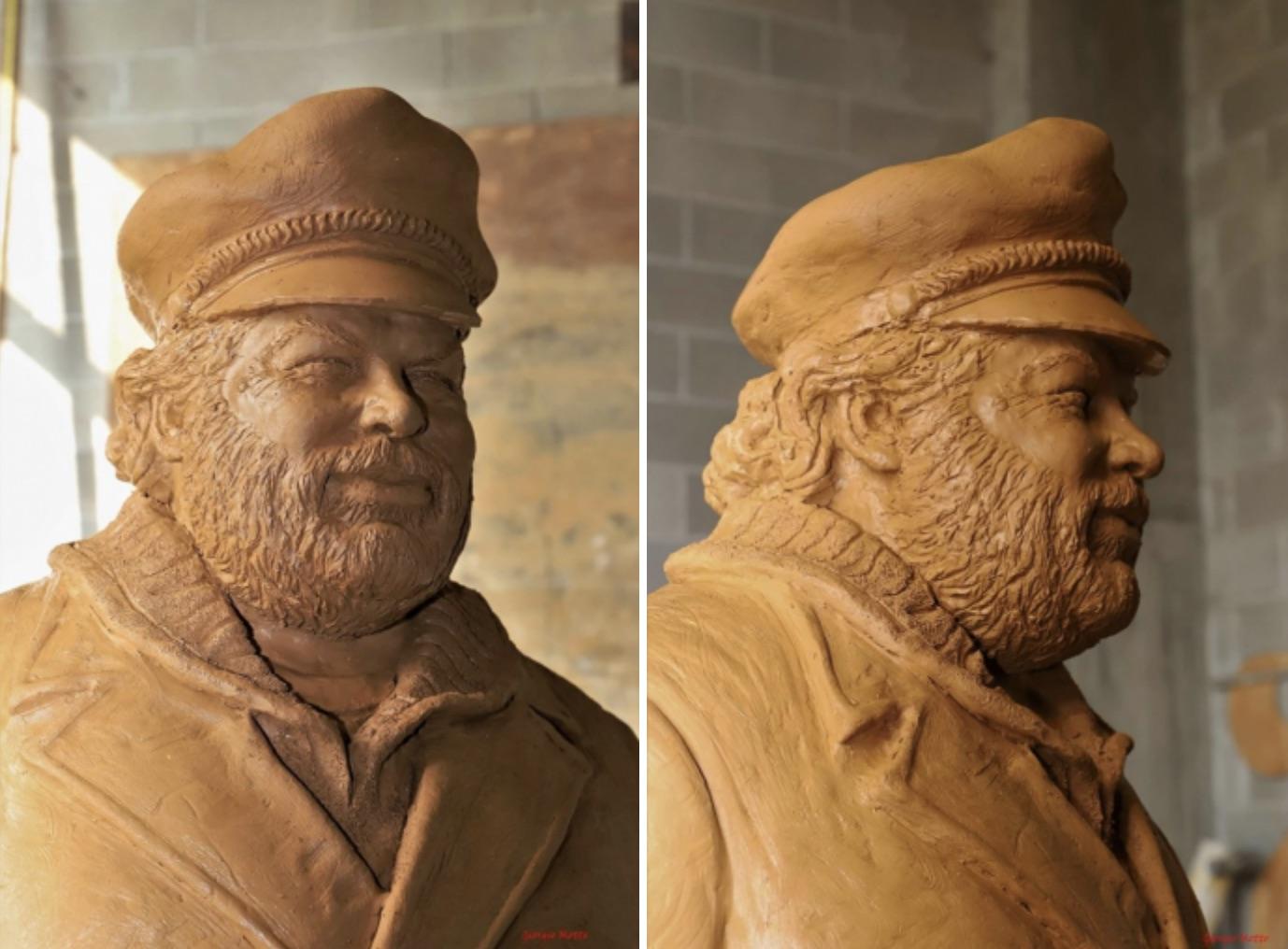 Un crowdfunding per installare la prima statua di Bud Spencer in Italia