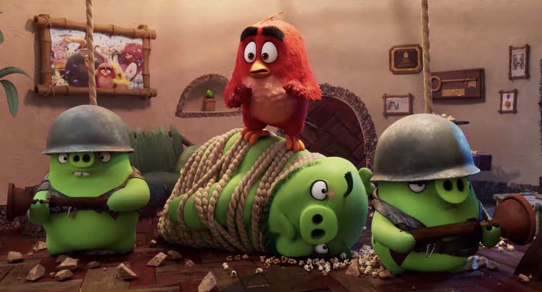 Angry Birds 2 - Nemici Amici per Sempre ecco uno sneak peek dal nuovo film