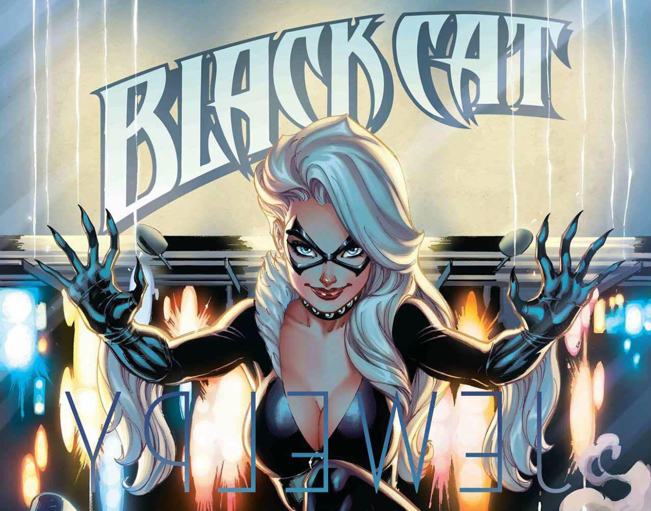 Black Cat, le prime tavole della serie dedicata alla Gatta Nera