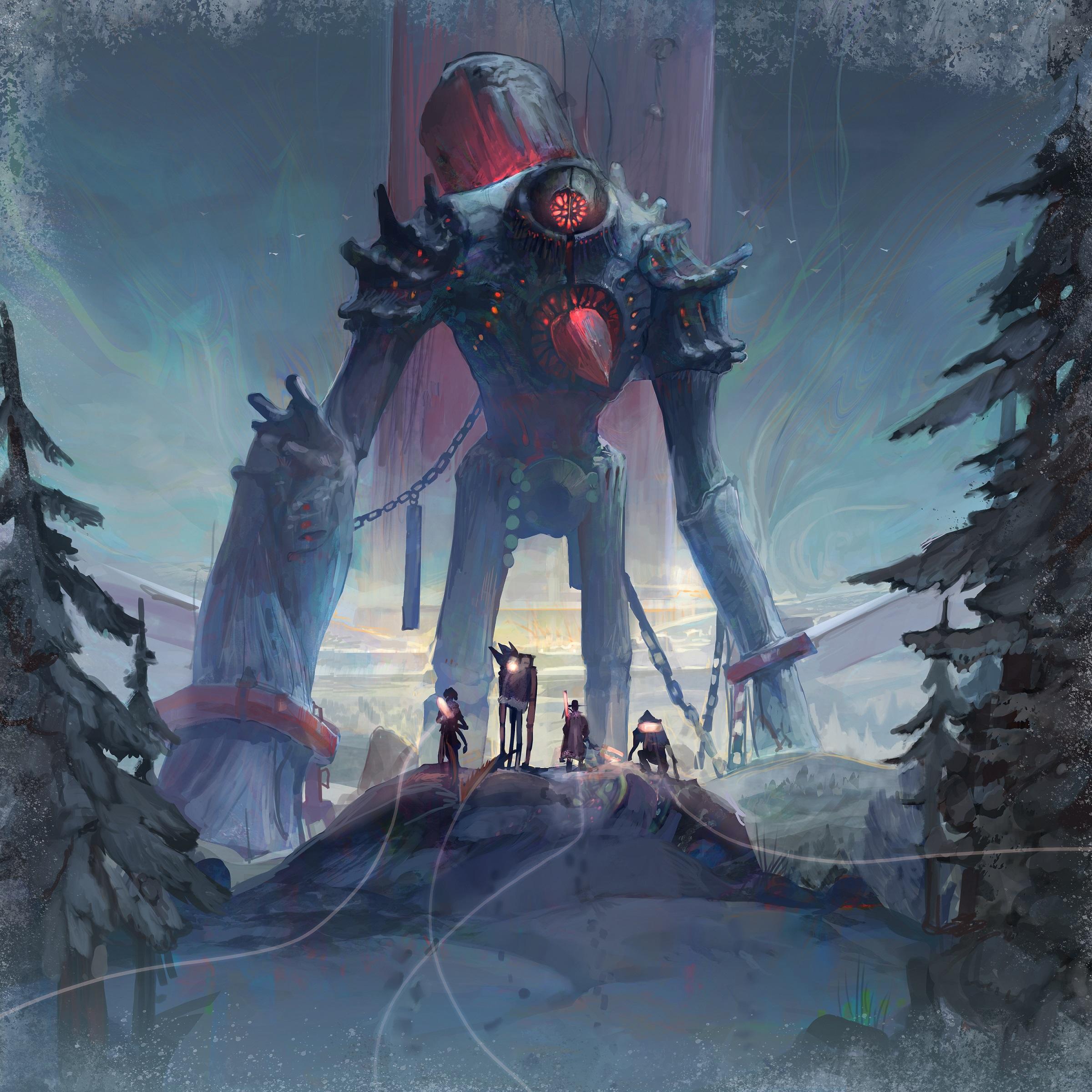 Icaion: il Voltron fantasy dei giochi da tavolo