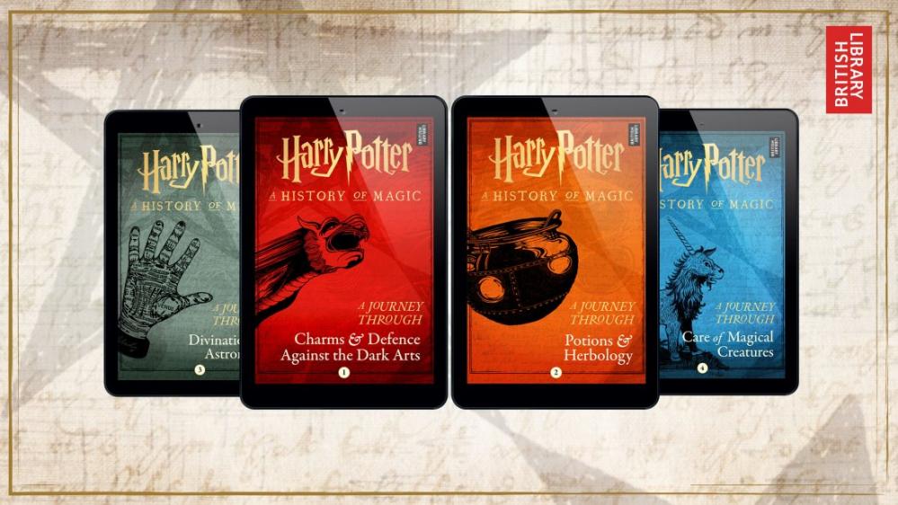 Harry Potter, 4 nuovi libri in uscita da giugno