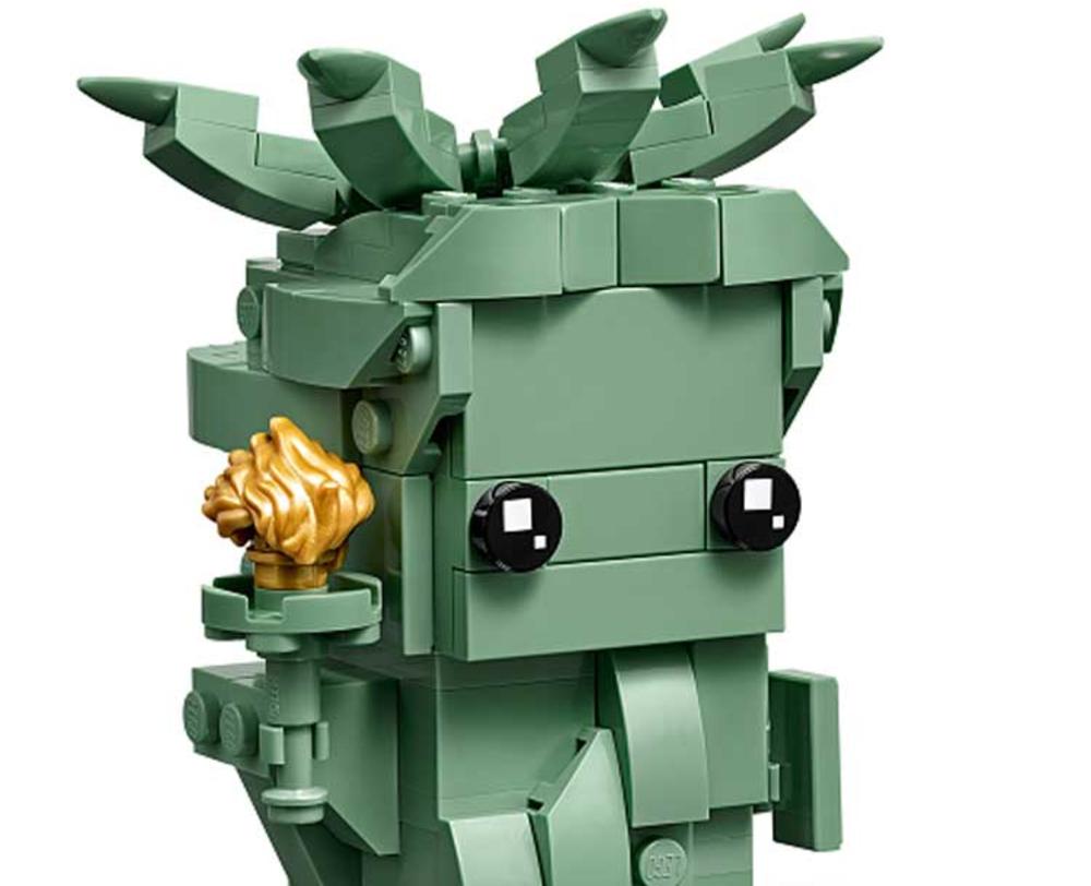 Un primo sguardo al set LEGO BrickHeadz 40367 Lady Liberty [AGGIORNATO]