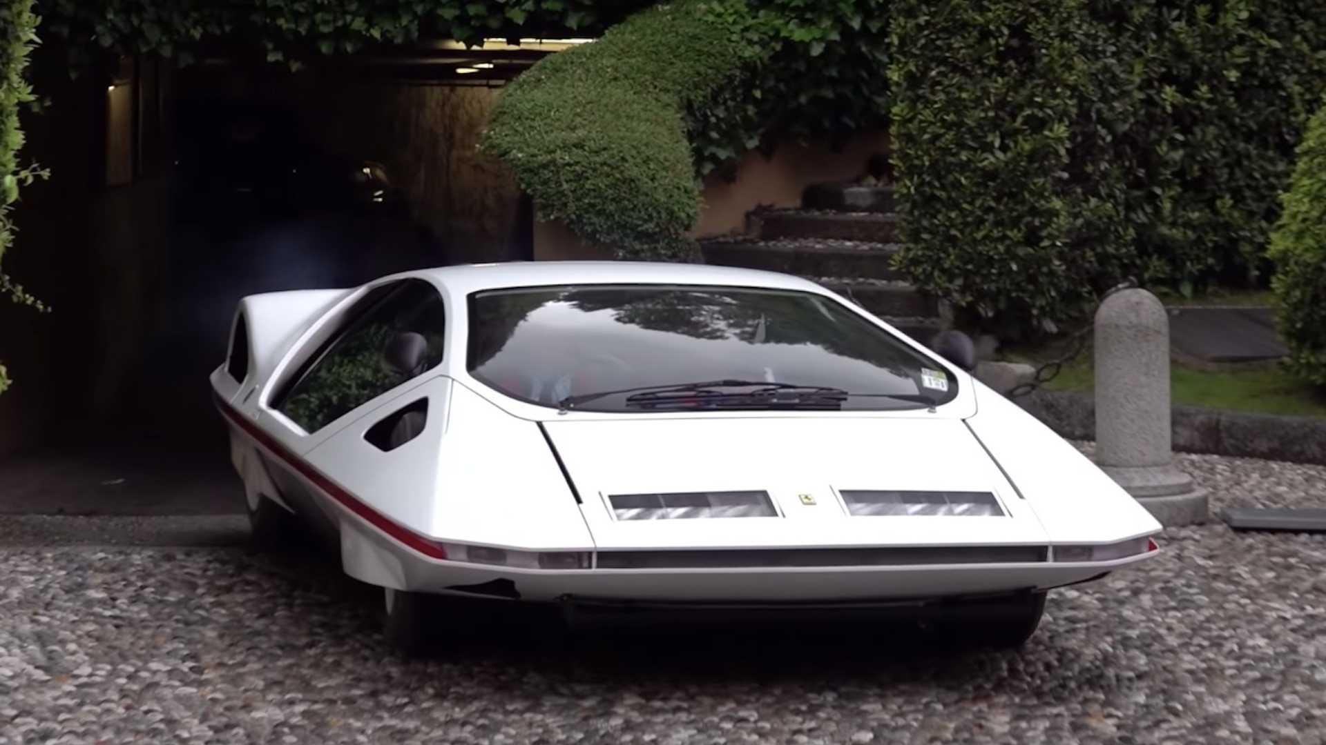 La Ferrari 512 Modulo Concept si mostra (completamente funzionante) a Villa d'Este