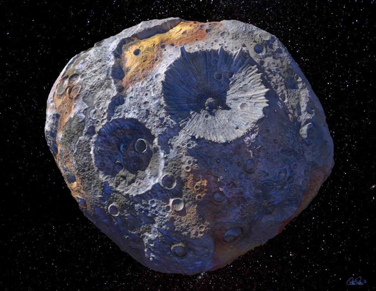 16 Psyche: un asteroide pieno d'oro