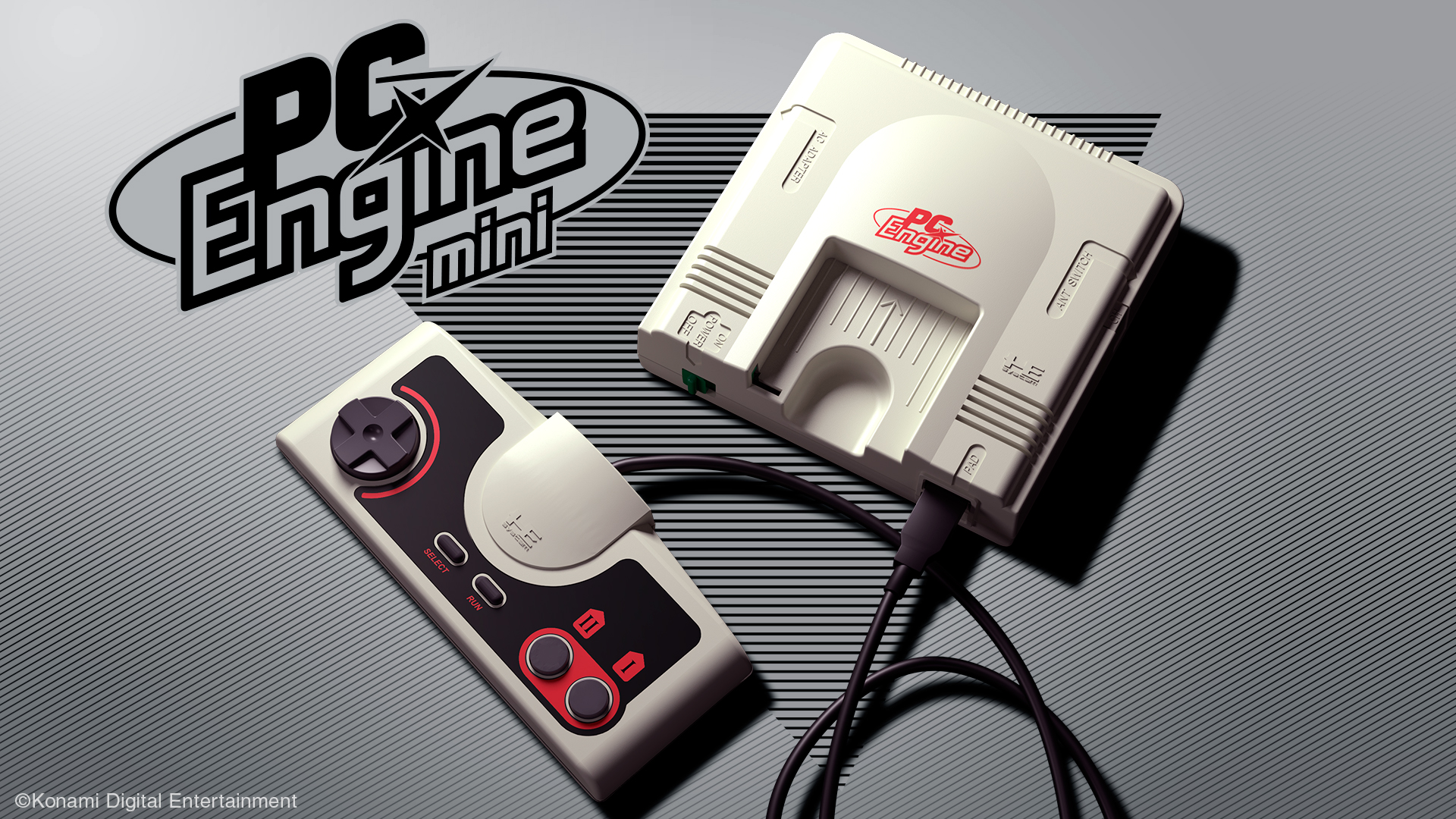 Konami ha annunciato PC Engine Mini