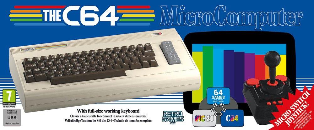 Il Commodore 64 torna in versione full size e sembra bellissimo!