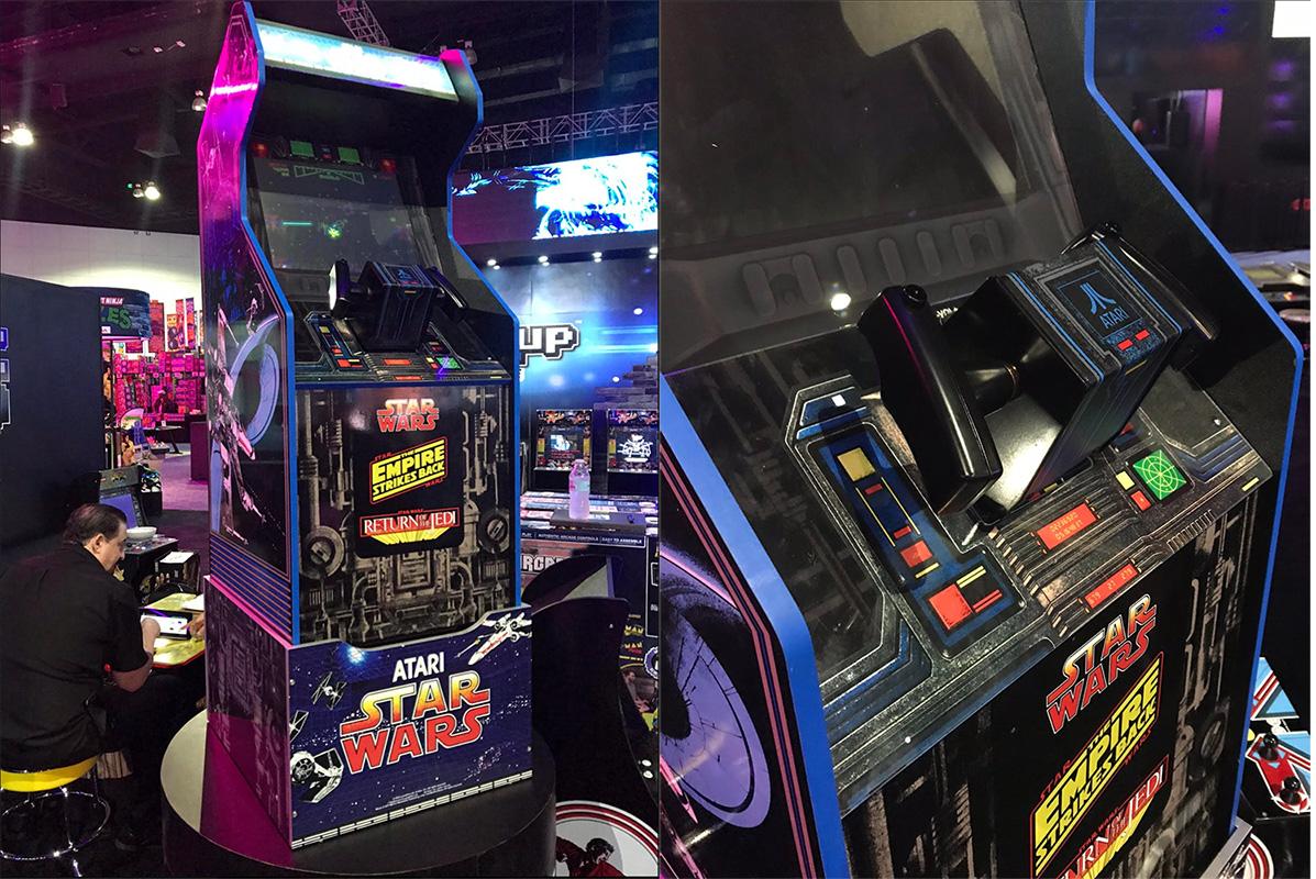 Arcade1Up presenta il nuovo cabinet dedicato a Star Wars