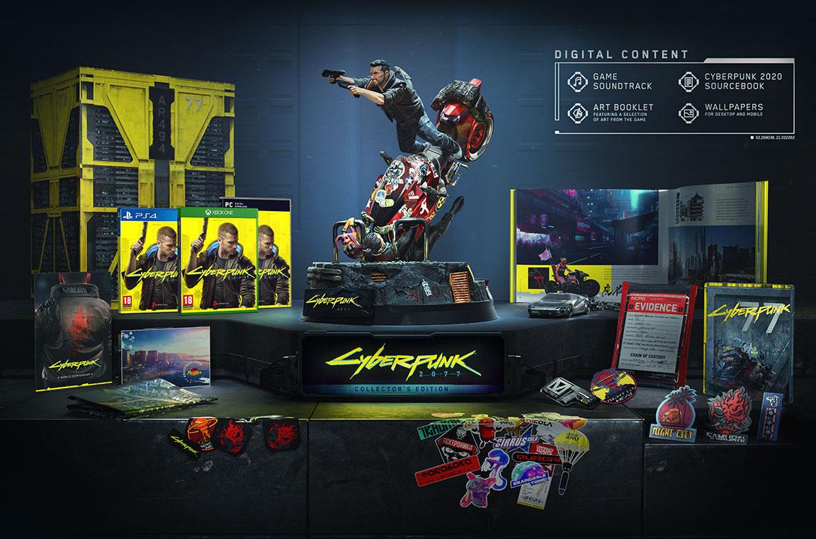 La Collector Edition di Cyberpunk 2077 è già preordinabile ed è ...