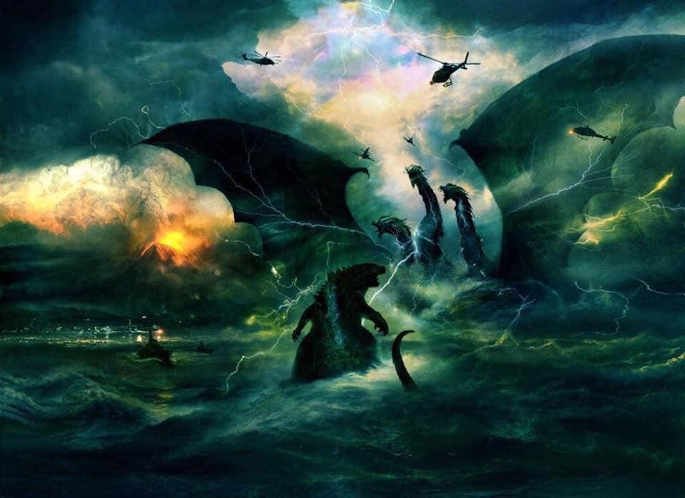 Le bellissime concept art di Godzilla 2: King of the Monters