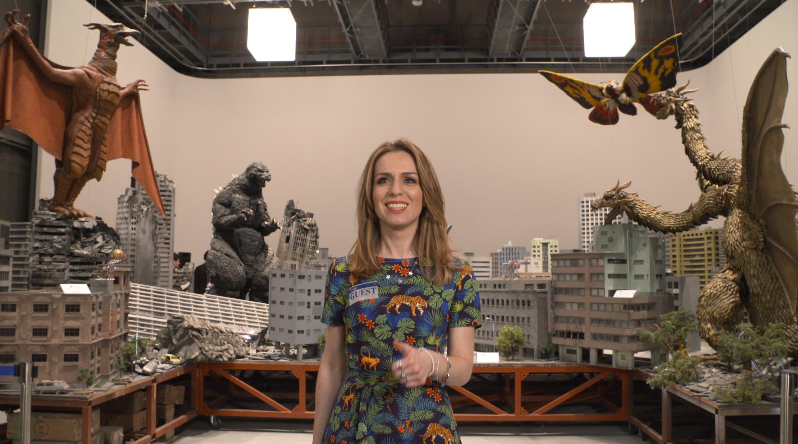 Godzilla ci apre le porte dei leggendari Toho Studios di Tokyo