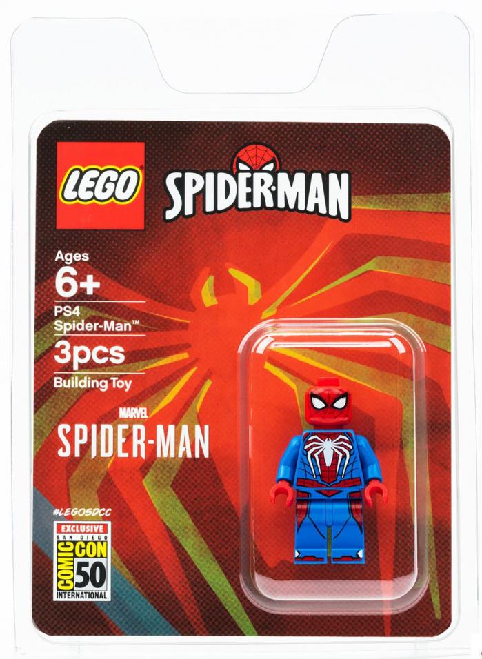 lego spider man 2004 minifigure