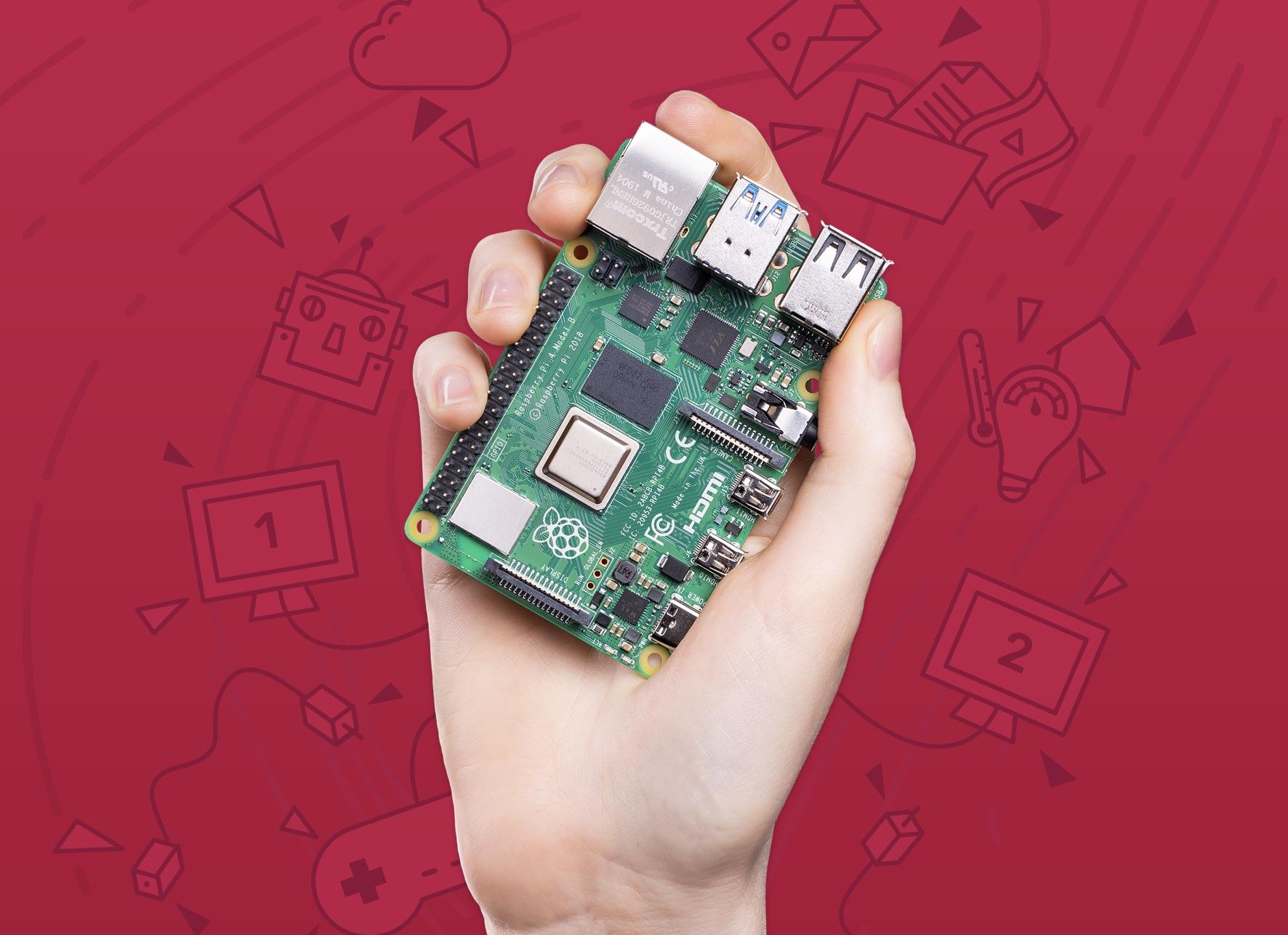 Il nuovo Raspberry Pi 4 è molto più potente e costa solo 35 dollari