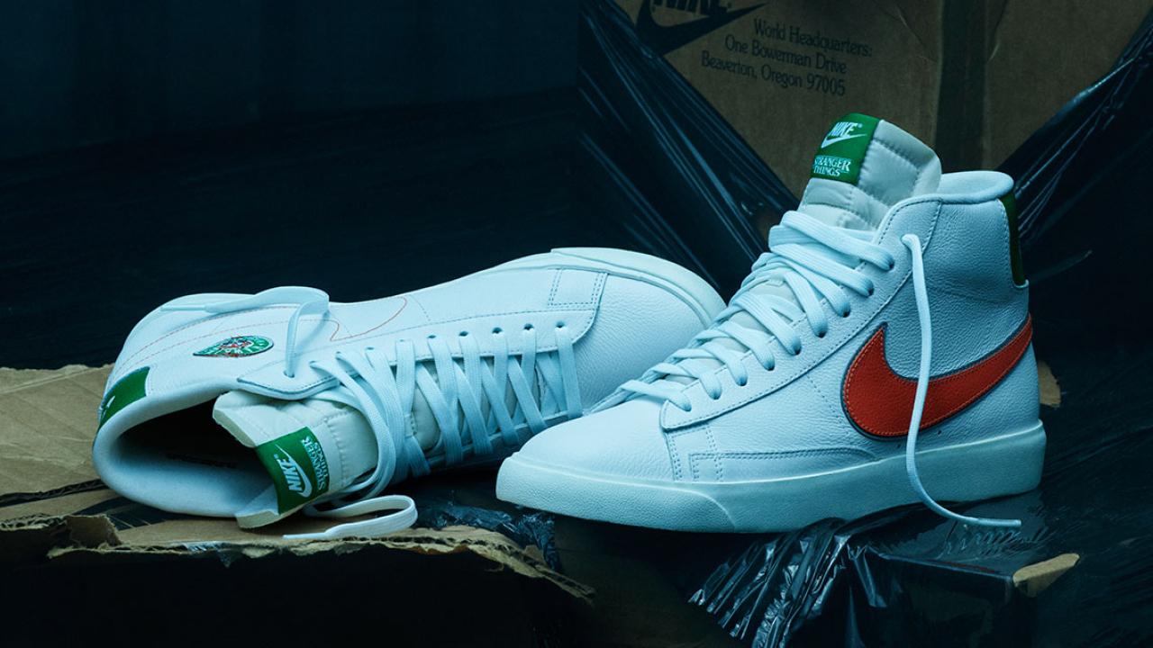 scarpe nike blazer verde acqua