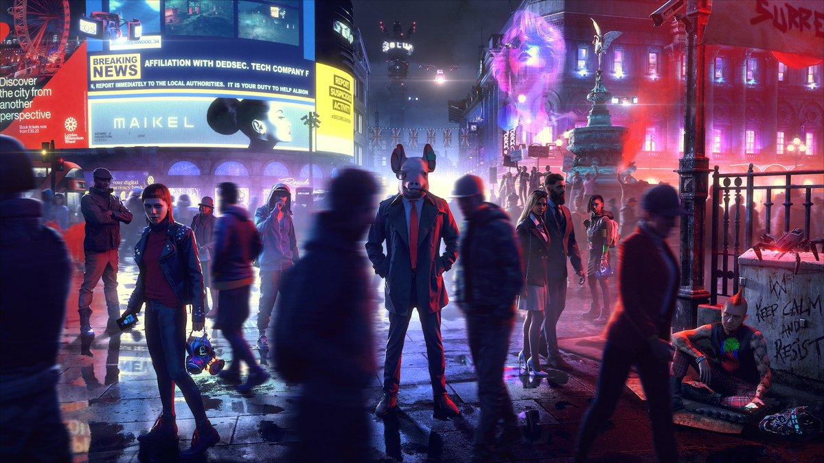 Watch Dogs: Legion, annunciata ufficialmente la data di lancio