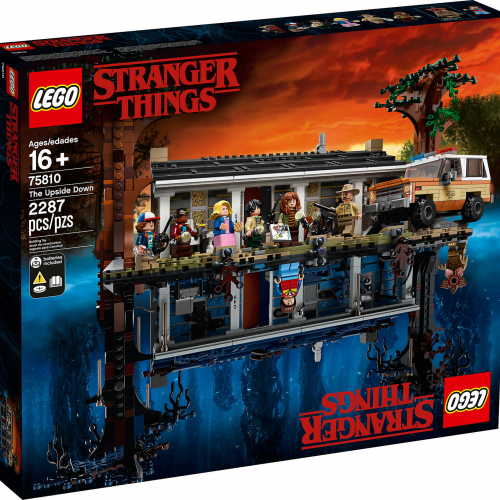 Lego Stranger Things: The Upside Down 75810
