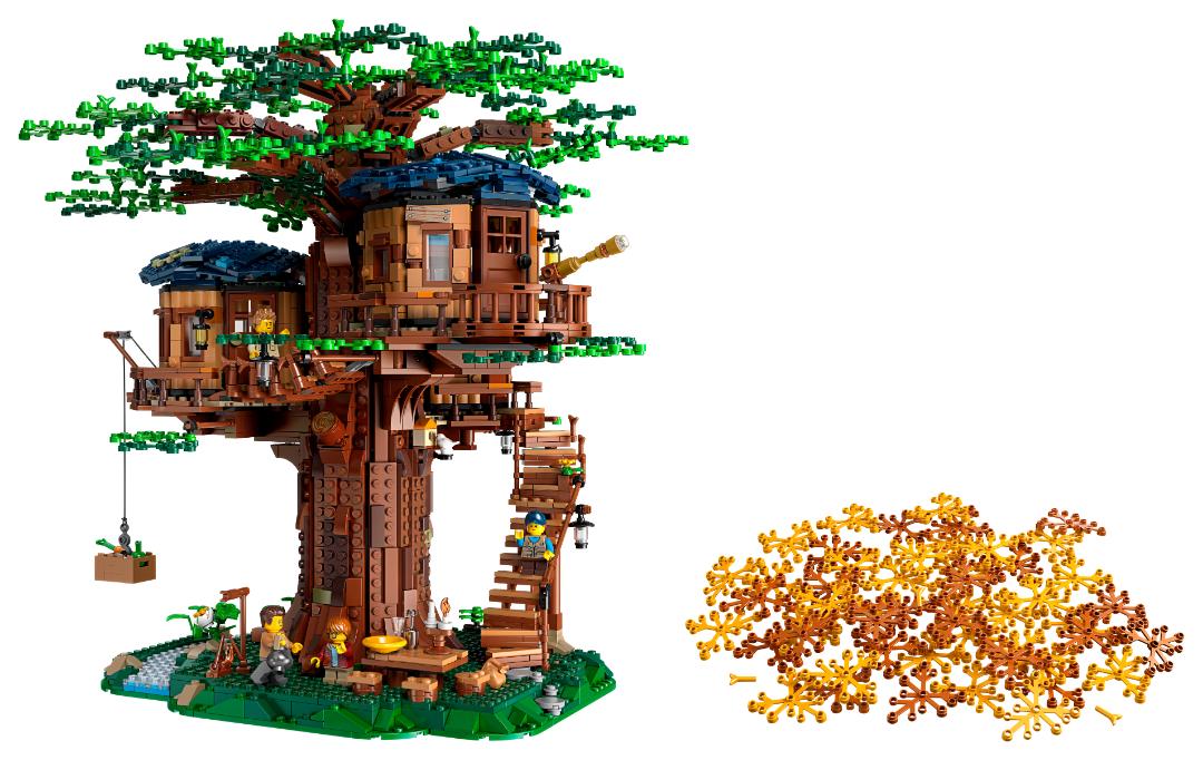 LEGO presenta il set LEGO Ideas 21318 Tree House