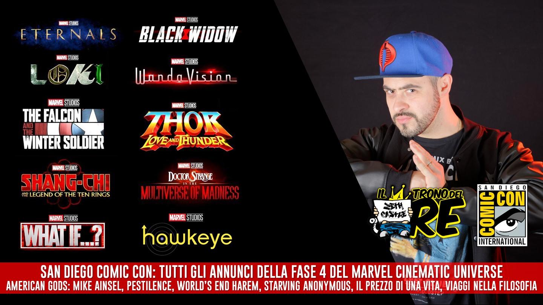 Il Trono del Re: gli annunci Marvel Studios al San Diego Comic Con 2019