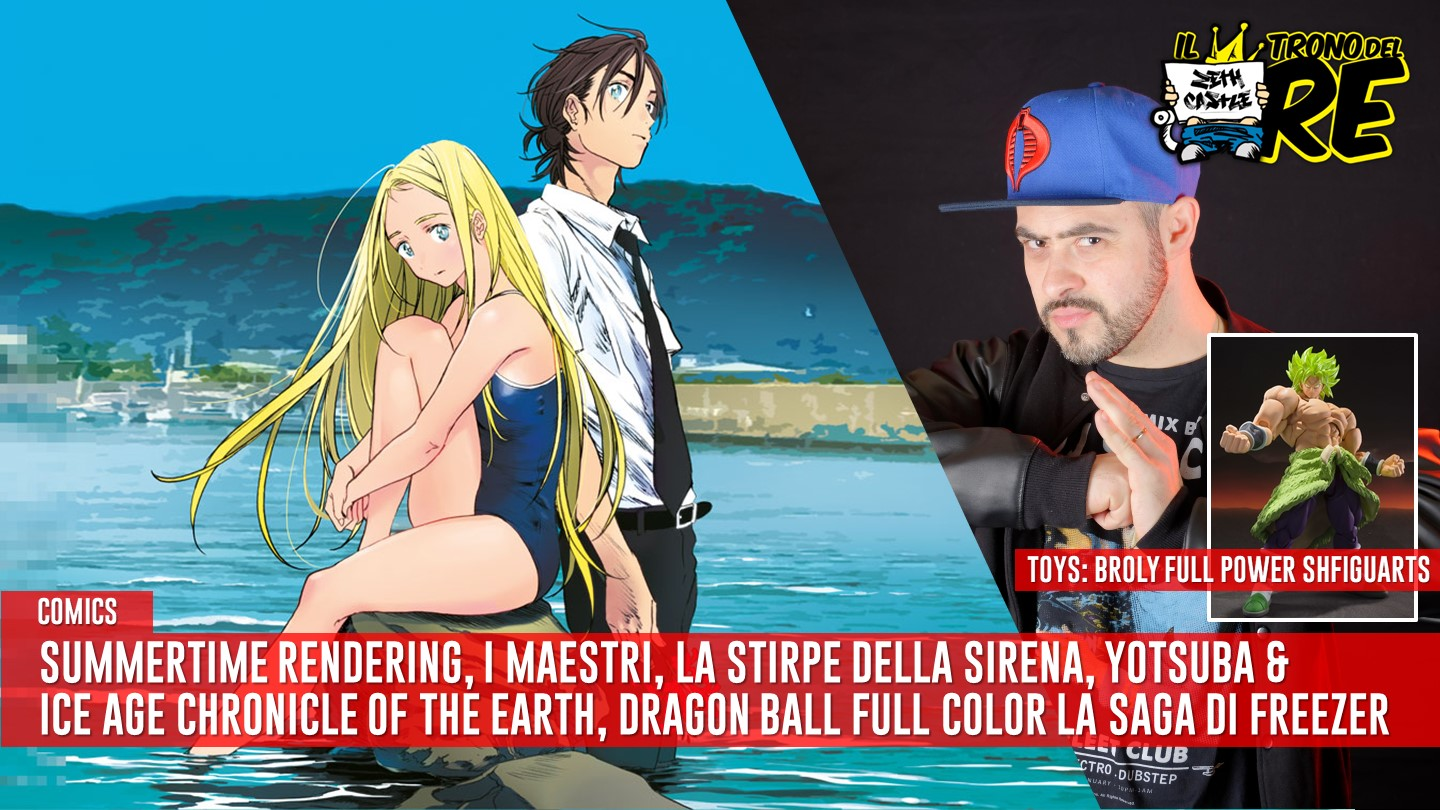 Il Trono del Re: manga & anime night