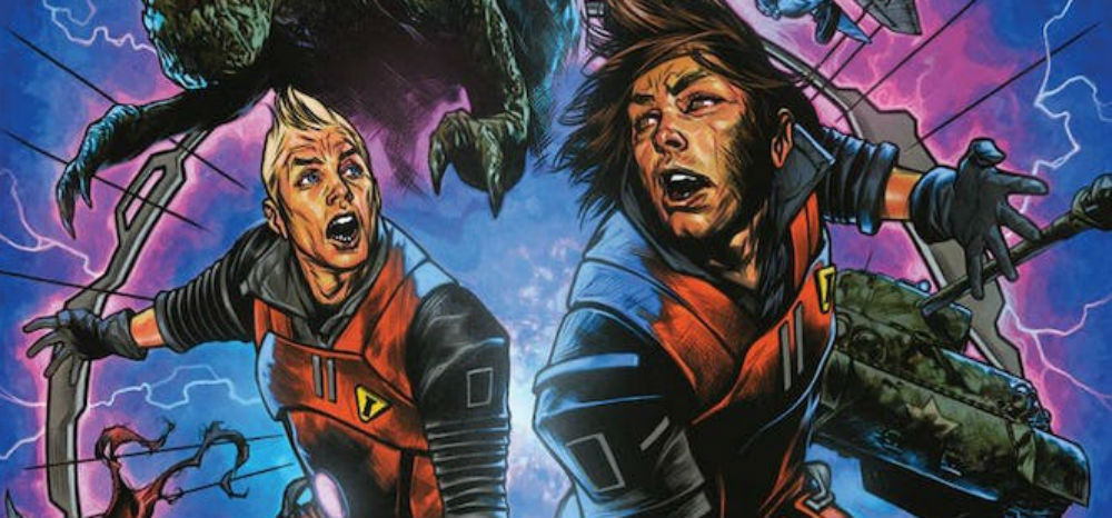 Chrononauts: Futureshock, il fumetto Netflix in binge reading