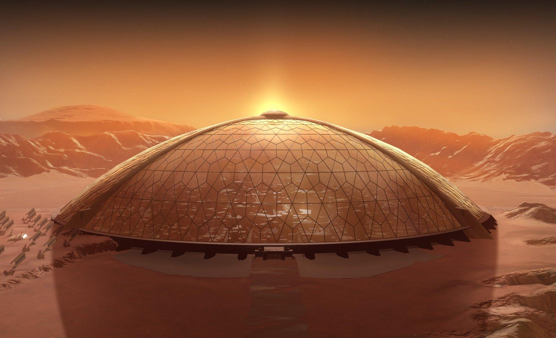 Forse in futuro costruiremo cupole su Marte grazie all'aerogel di silice