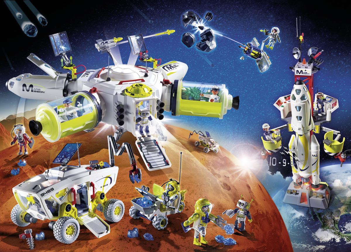 Anche Playmobil a bordo della missione ESA Beyond
