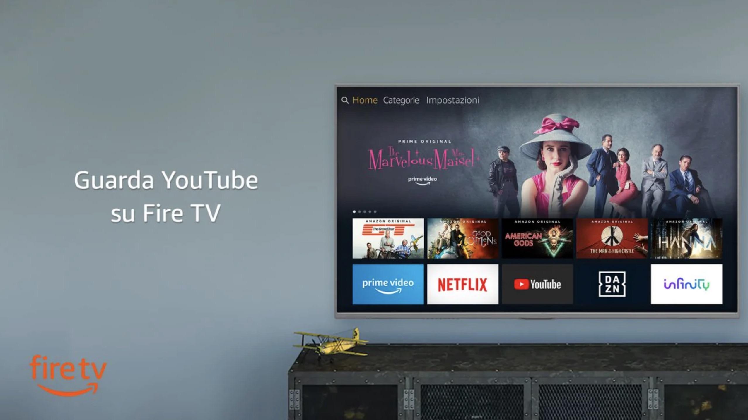Google e Amazon fanno pace: finalmente Youtube su Fire TV e Prime Video su Chromecast e Android TV