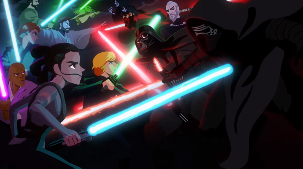 Ecco i nuovi episodi della webserie animata Star Wars: Galaxy of Adventure