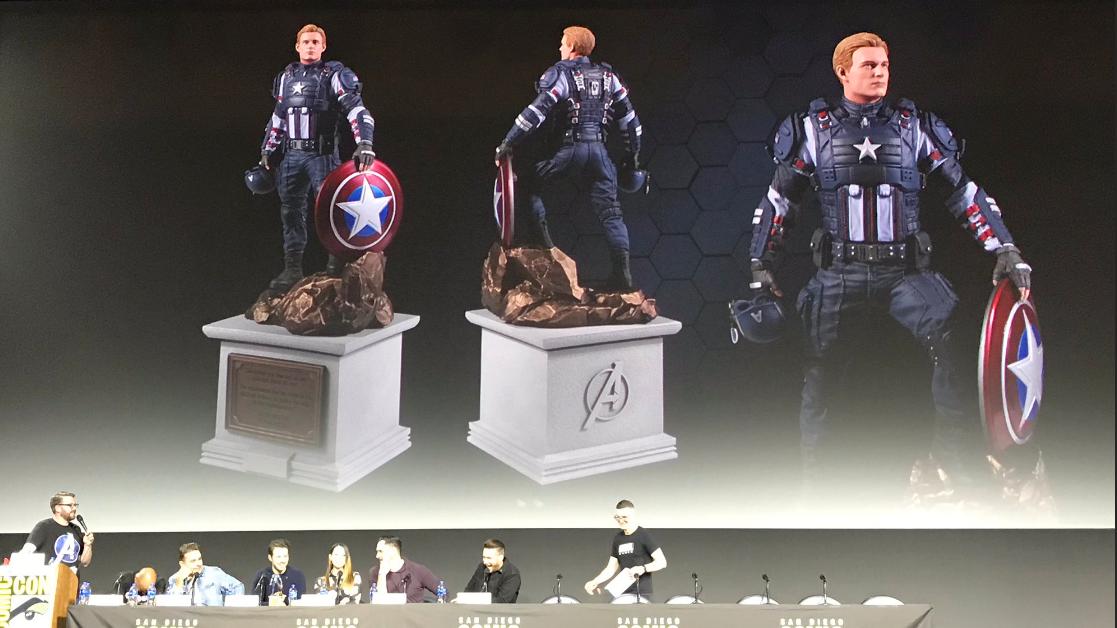 La collector's edition di Marvel's Avengers includerà una statua di Captain America