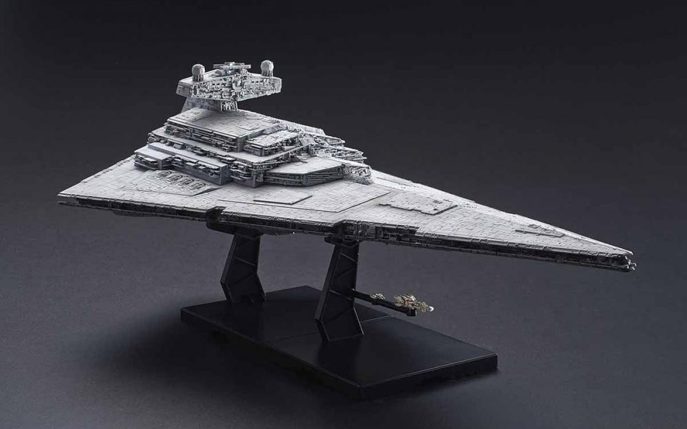 Lo Star Destroyer Lighting Model in scala 1:5000 in arrivo da Bandai