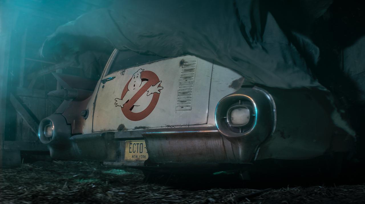 Ghostbusters 3: la Ecto-1 non se la passa troppo bene nelle prime foto