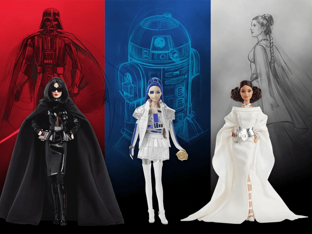 Mattel annuncia la linea di Barbie Doll ispirate a Star Wars