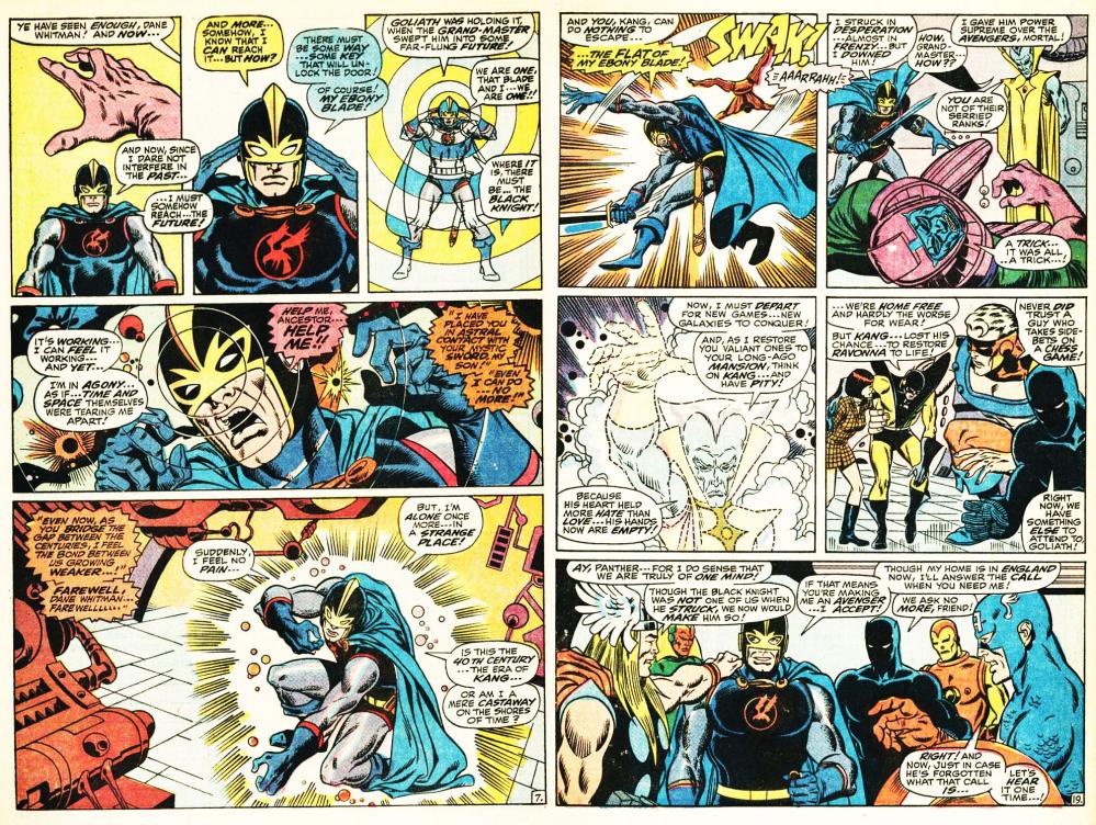 Storia Cavaliere Nero Marvel