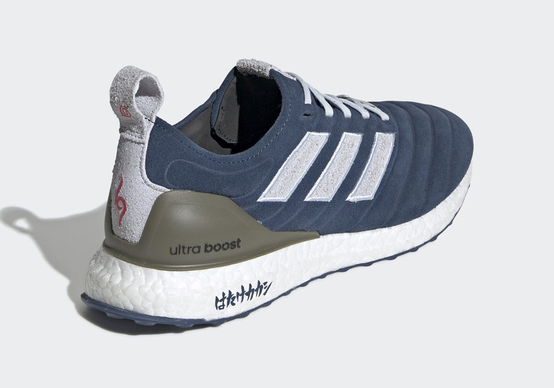 Naruto, Adidas mette in commercio le sneaker dedicate a Kakashi