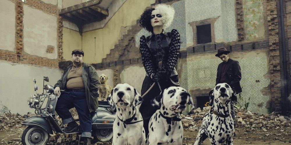 Emma Stone è Crudelia De Mon nella prima foto ufficiale di Cruella