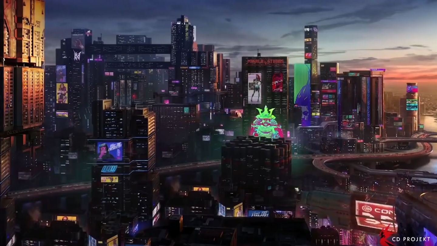 Cyberpunk 2077: Nightcity sarà un incredibile mix di stili