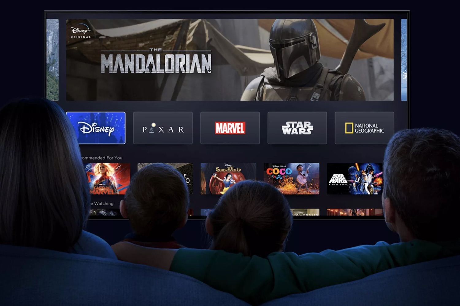 L'abbonamento base di Disney+ includerà 4 stream contemporanei e il 4K