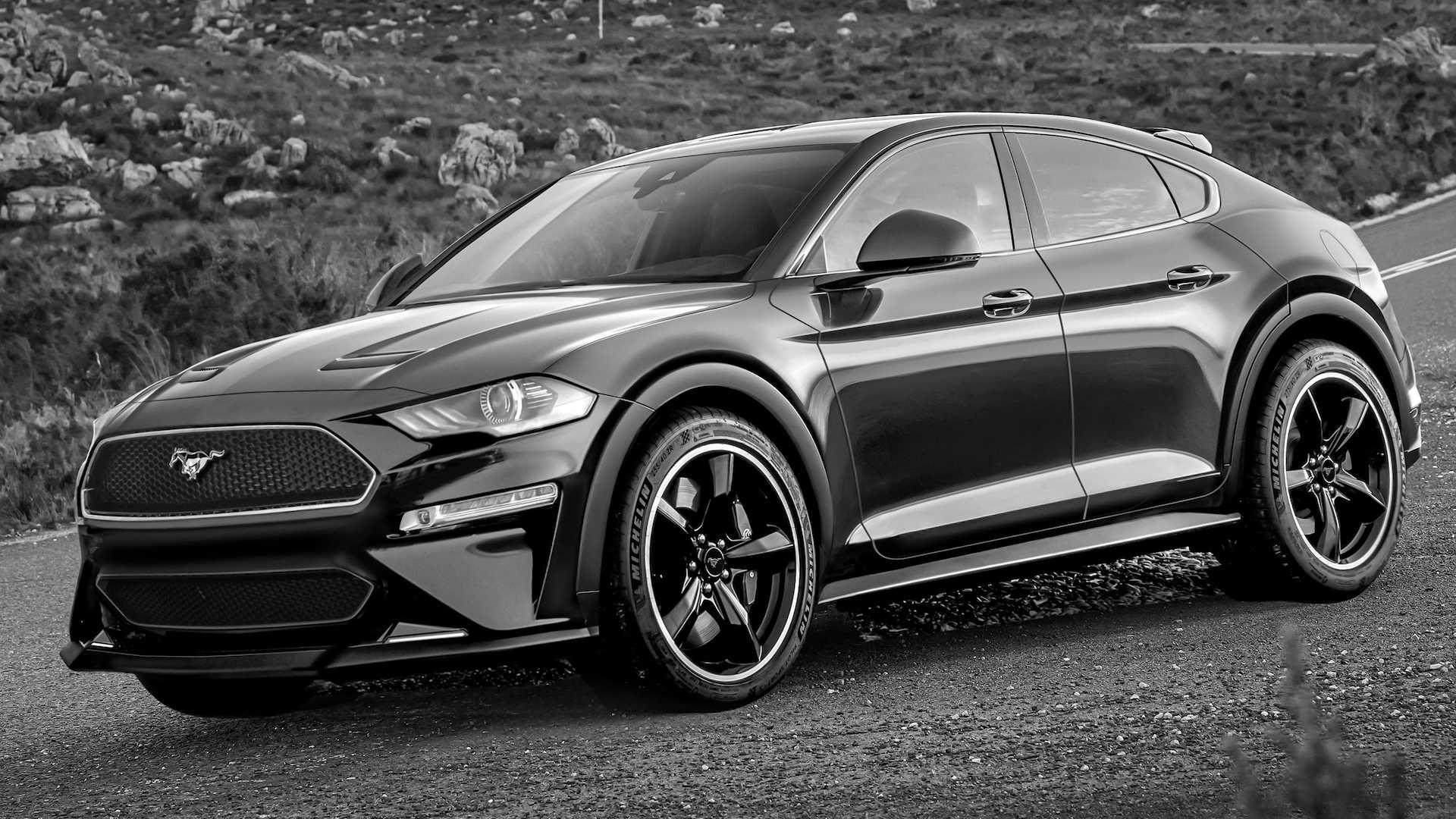 Il SUV elettrico di Ford ispirato alle Mustang sarà così?