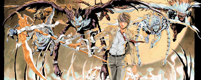 Death Note. scritto da Tsugumi Ōba e illustrato da Takeshi Obata