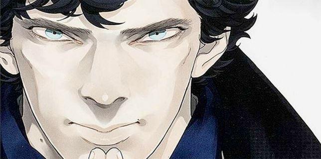 La versione manga di Sherlock, di Steven Moffat e Mark Gatiss, pubblicata in Giappone nel 2012