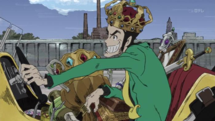 """Lupin III come appare nella serie """"La donna chiamata Fujiko Mine"""""""
