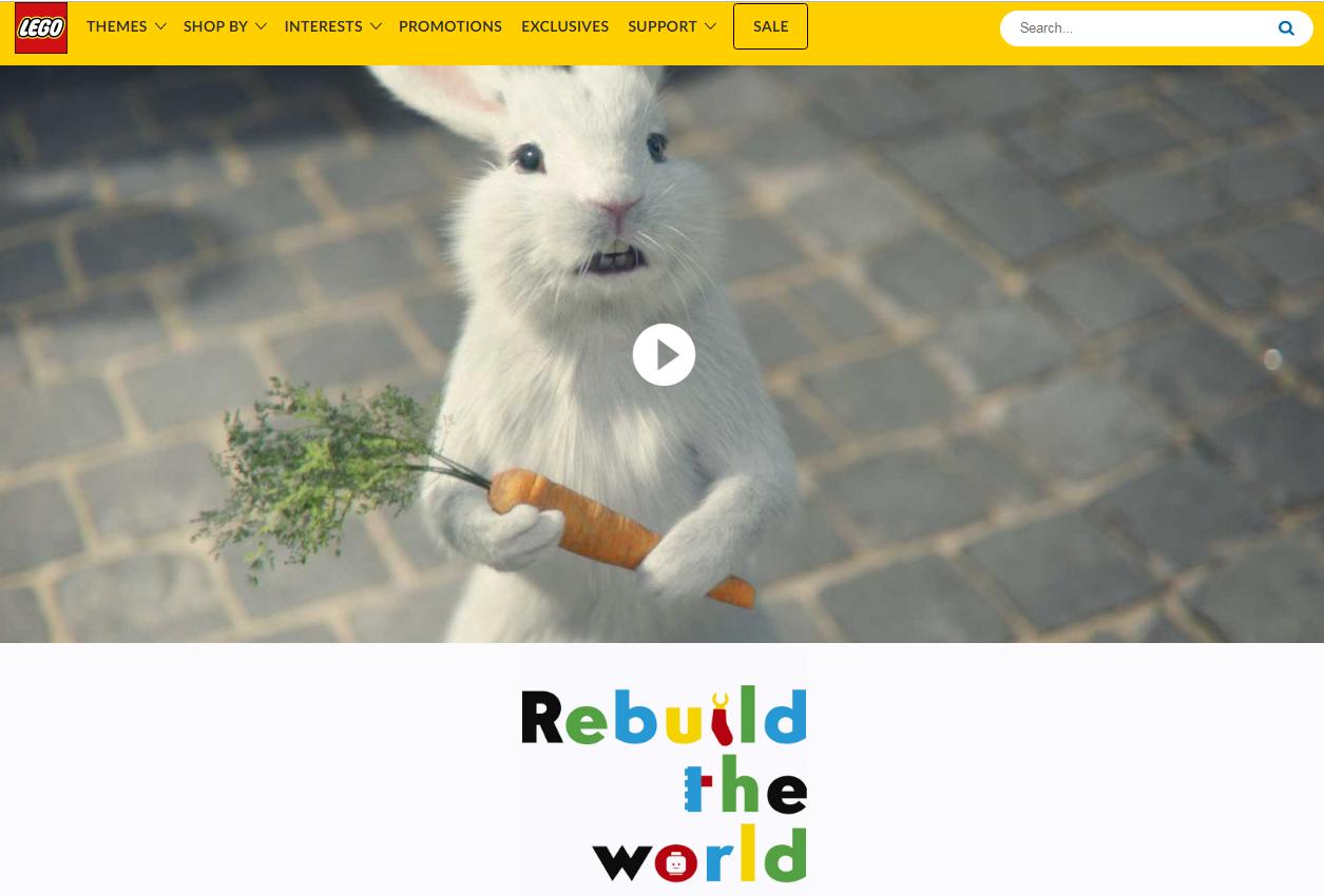 Svelata la nuova campagna LEGO Rebuild The World