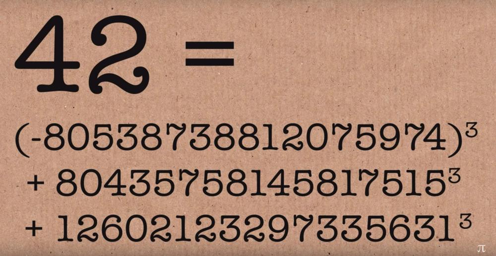 Svelato il segreto del numero 42