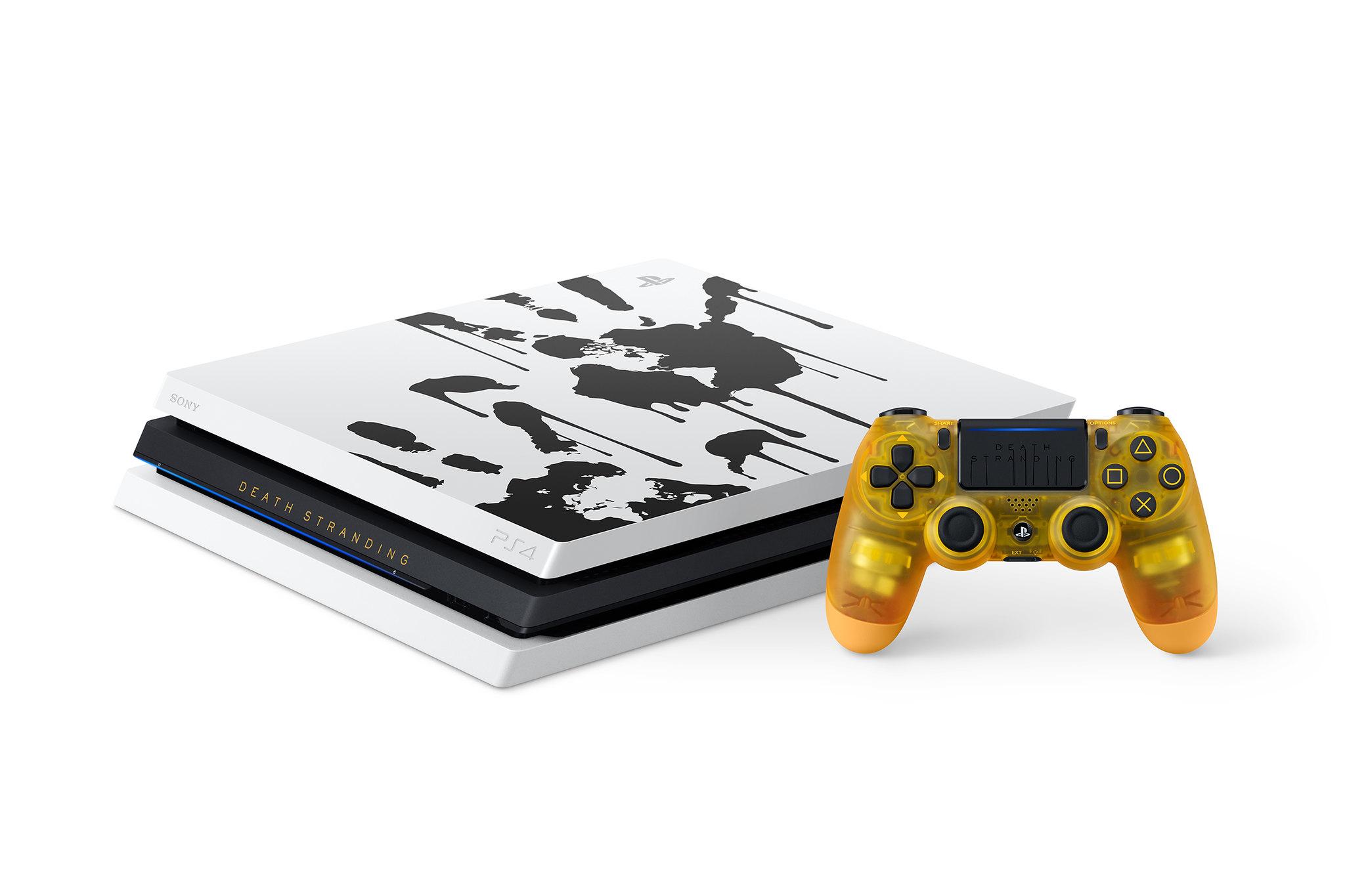 La PS4 Pro speciale in bundle con Death Stranding