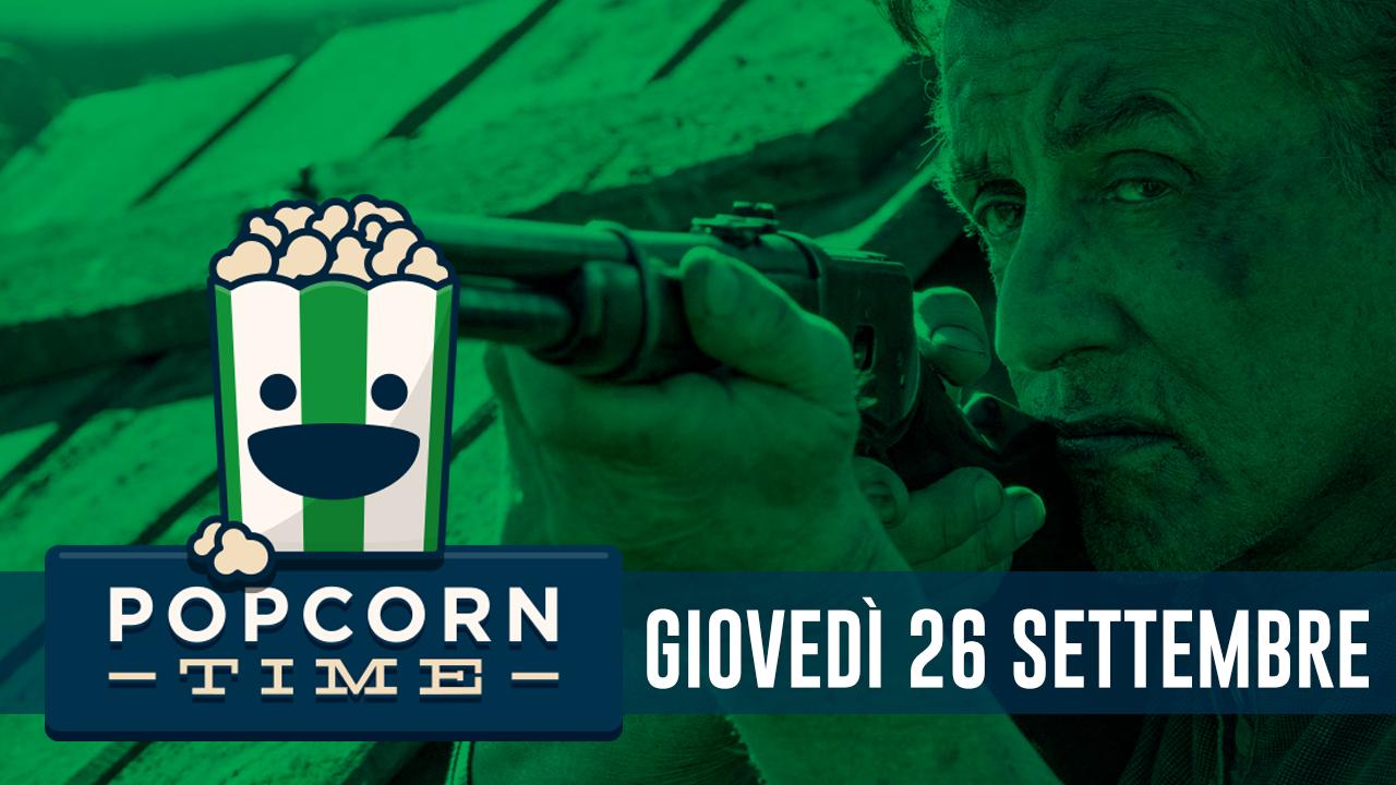 PopCorn Time: le uscite in sala del 26 Settembre
