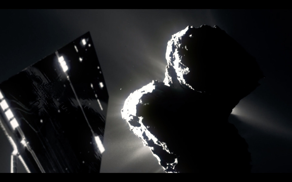 The Comet: il video della missione Rosetta sulla cometa Churyumov-Gerasimenko