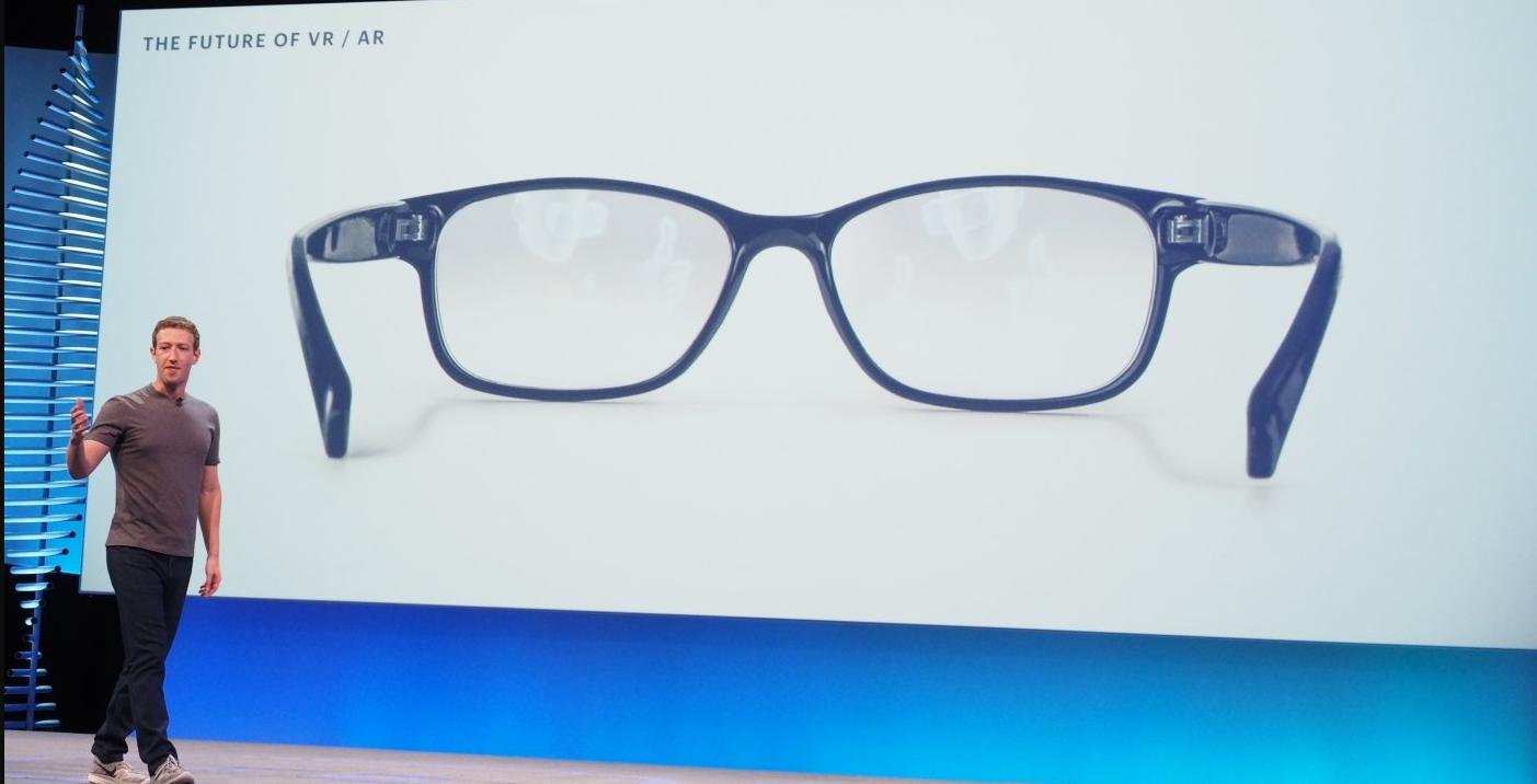 Facebook produrrà degli occhiali per la realtà aumentata assieme a Luxottica