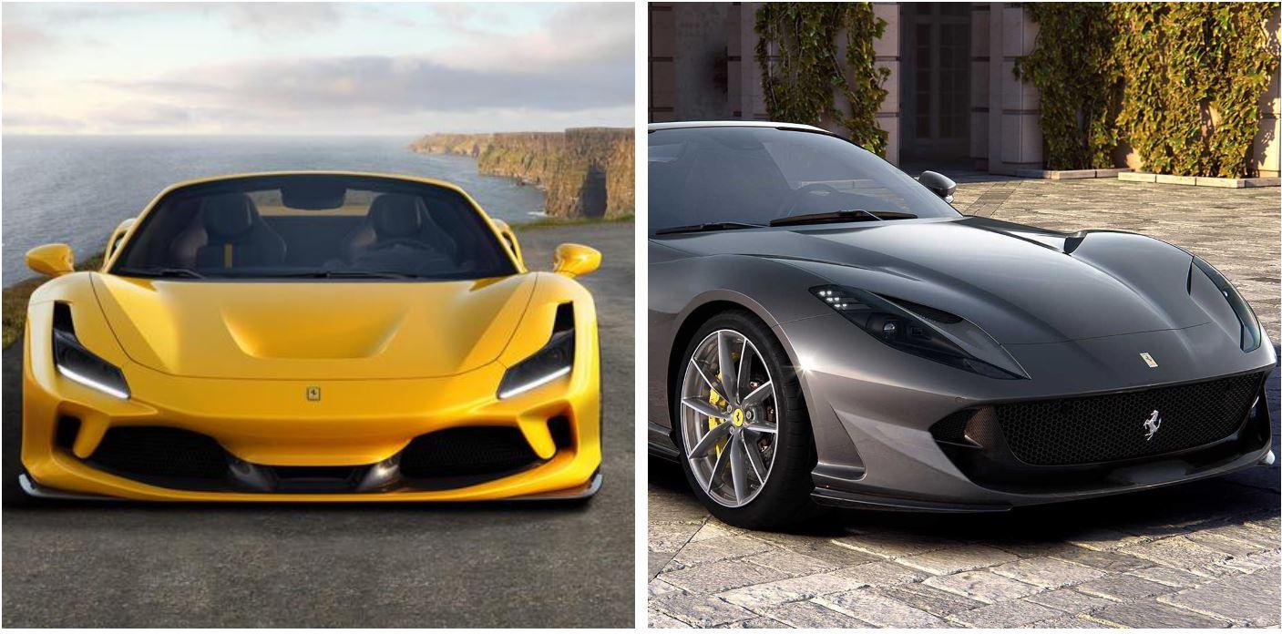 La Ferrari ha presentato la F8 Spider e la 812 GTS