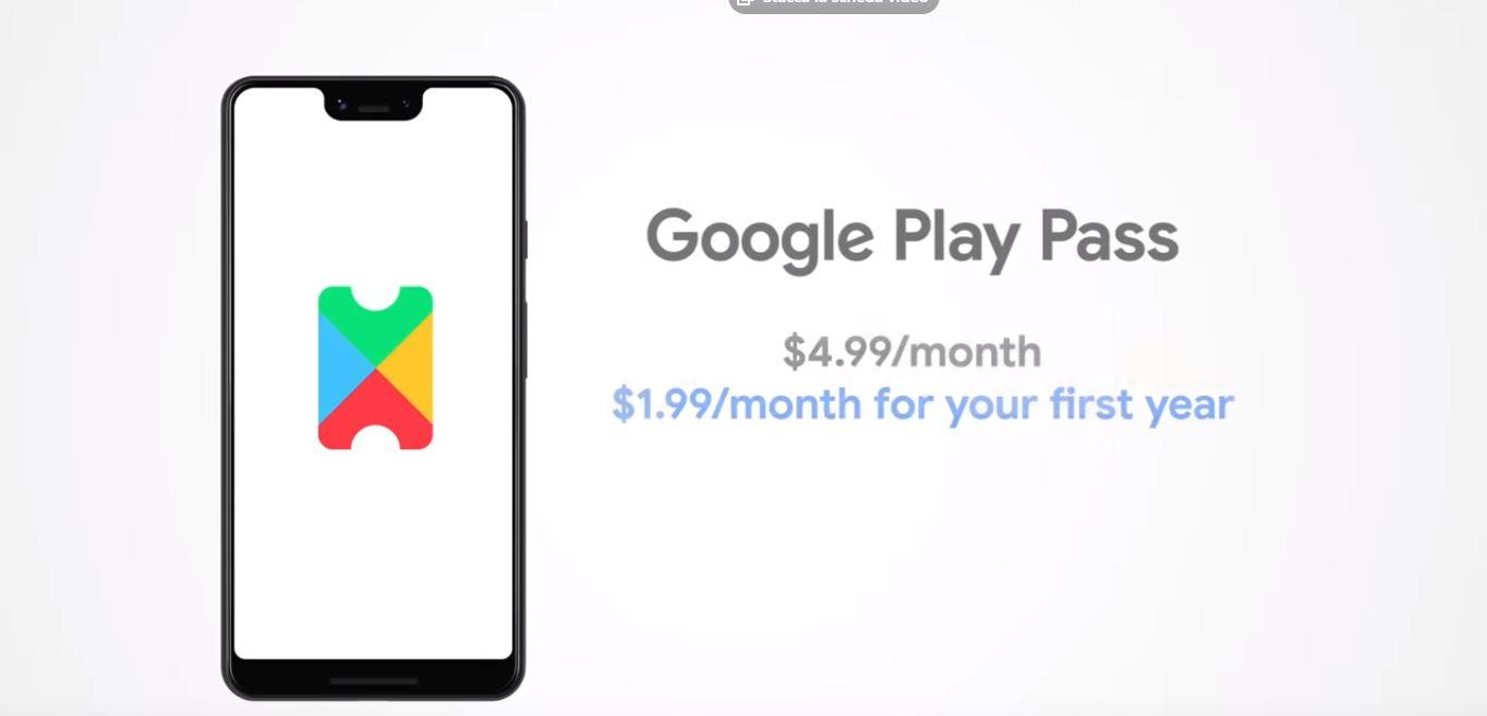 Arriva il Google Play Pass, per il primo anno costa 1,99$ al mese