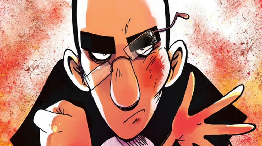 """BAO Publishing modifica la copertina di """"La scuola di pizze in faccia del professor Calcare"""" per motivi politici"""